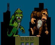 King Kong gets smacked around